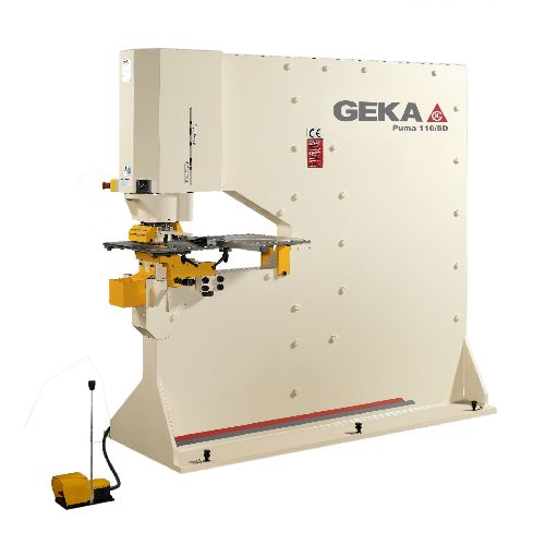 Geka Puma 110 S and SD Steelworker