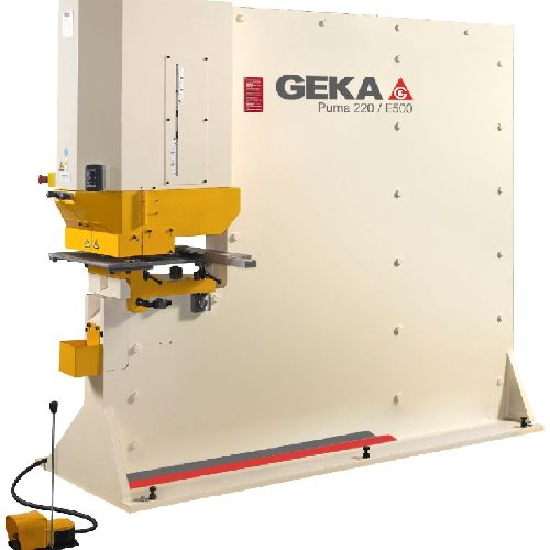 Geka Puma 220 S and SD Steelworker