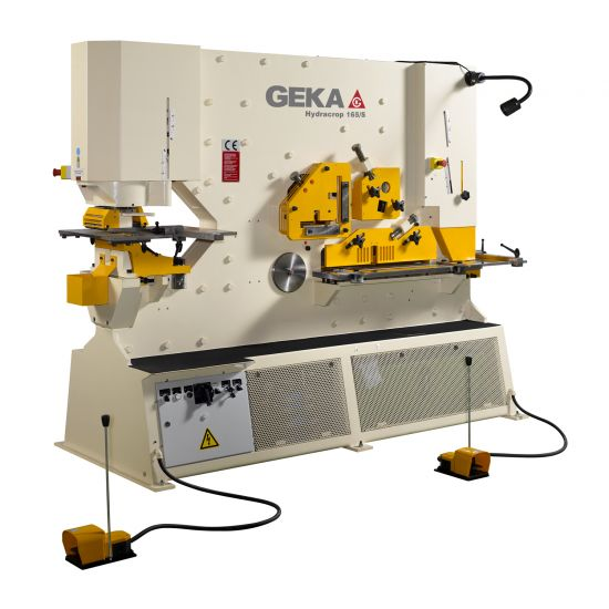Geka Hydracrop 165/300 S and SD Steelworker