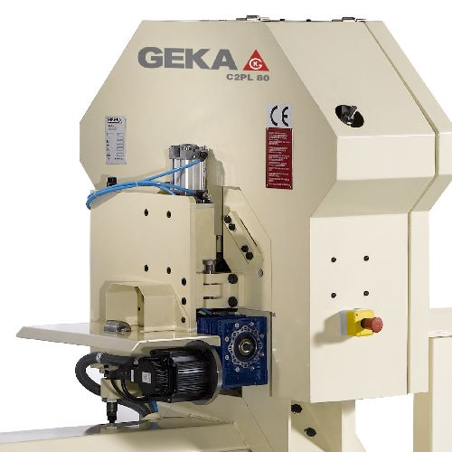 Geka C2PL 65 and C2PL 80 Steelworker